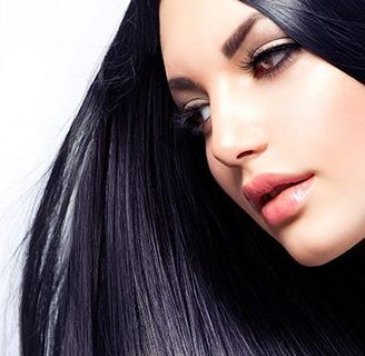 frizz-free hair treatment