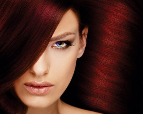 Organic Colour Systems - red hair